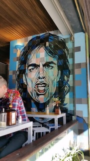 mick jagger mural