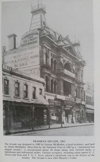 prahran arcade 1905