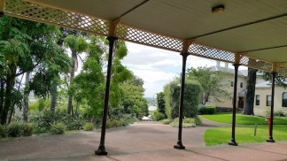 willsmere covered walkway and view