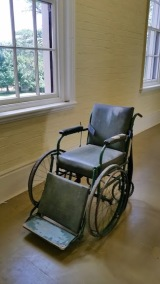 willsmere old wheelchair