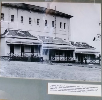 willsmere openeing day centre 1953