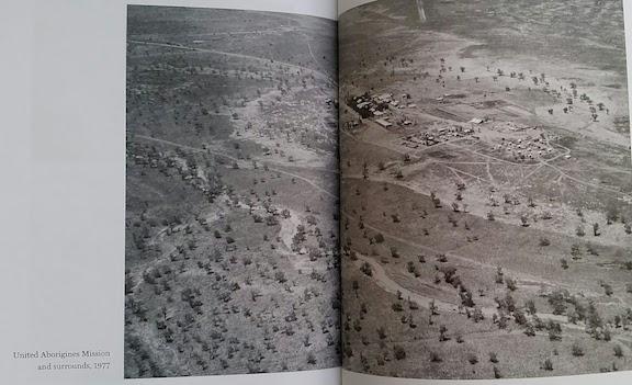 United Aborigines Mission from air 1977