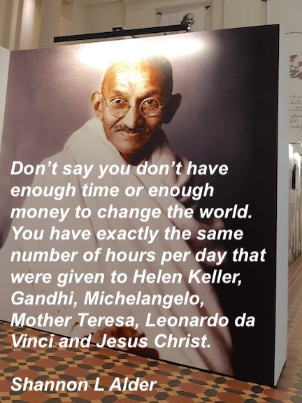 gandhi portrait and quote about hours.jpg