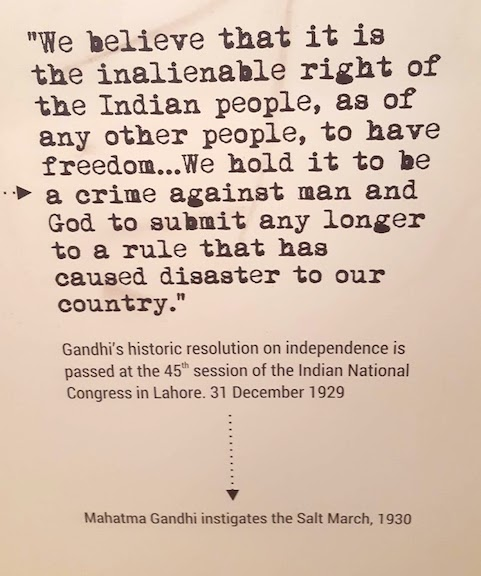 gandhi's demand for independence