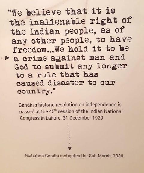 gandhi's demand for independence