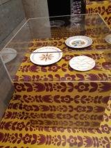 3 ironstone plates