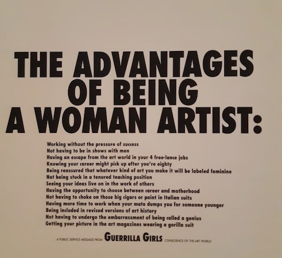 guerrilla girls and advantages of being a woman artist.jpg