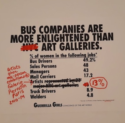 guerrilla girls on bus drivers
