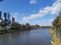 yarra river towards MCG