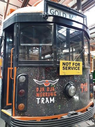 aboriginal tram