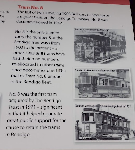 info on tram no 8