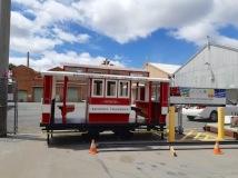 miniature tram