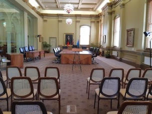 room view council chamber