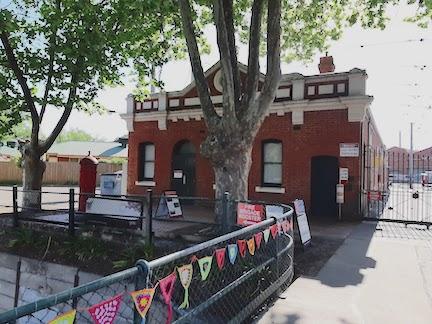 tram depot office