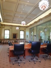 view of new council chamber