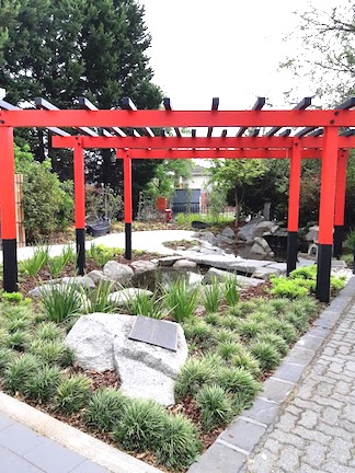 entrance japanese garden caulfield