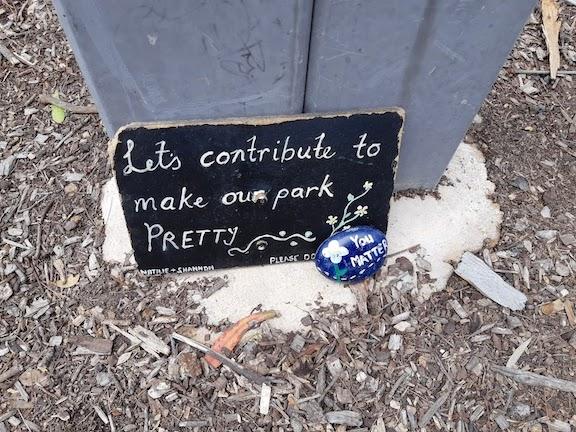 peace park sign