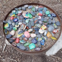 stones for peace trail