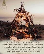 wild woman and christmas message