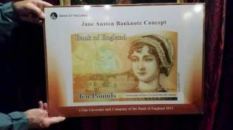 bank note of jane austen