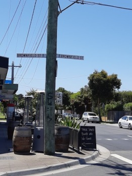 brownfield st corner