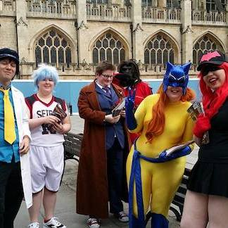cosplay charcaters bath 2017