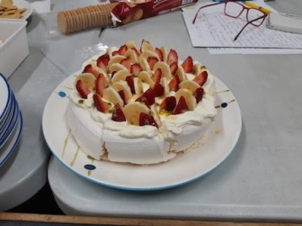 my meringue cake