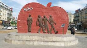 beatles monument mongolia