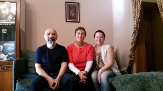 my hosts in Irkutsk