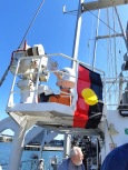 indigenous flag rainbow warrior