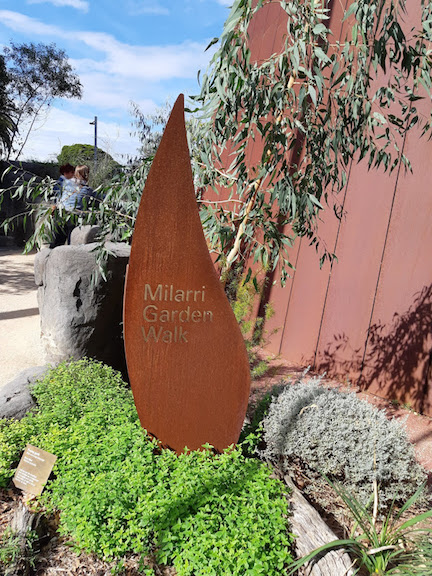 Milarra Garden Walk sign.jpg