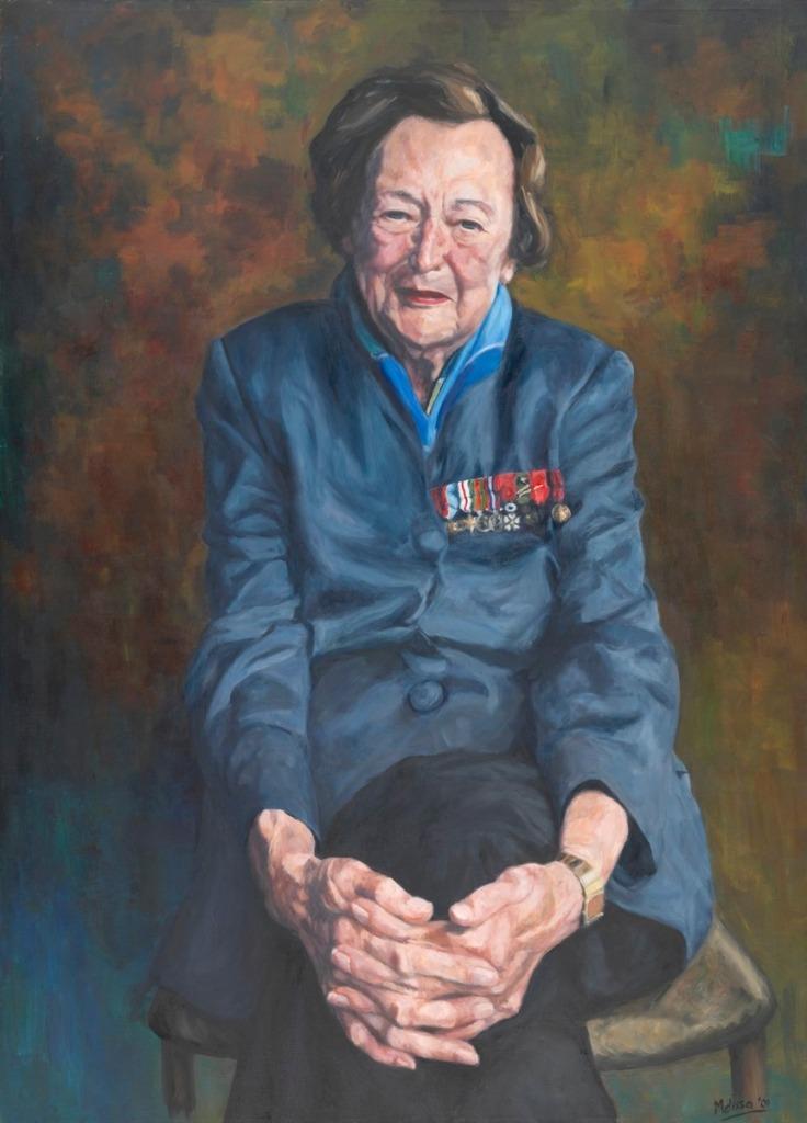 portrait of Nancy Wake