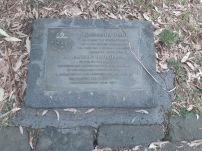 tooronga park foundation stone
