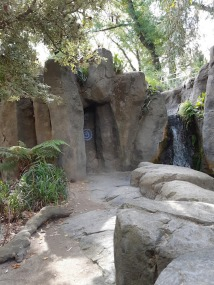 waterfall and rock art 2