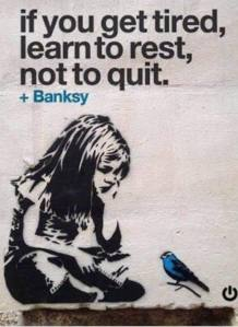 Banksy gives great advice