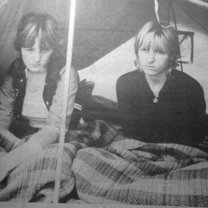 homeless protest Moorabbin 1982