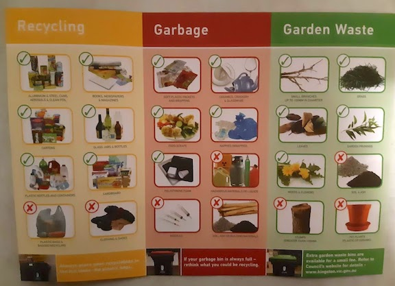Kingston's recycling info