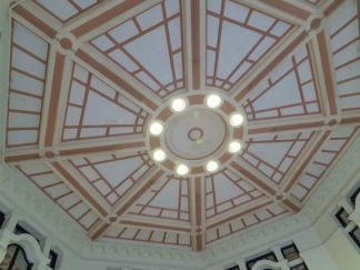 restored ceiling