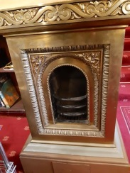 fire with pressed metal work
