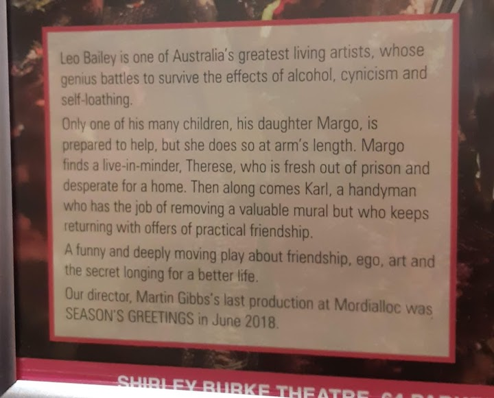 blurb for play