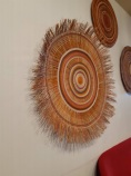 decorative yarning circle art