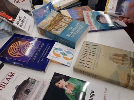 books about faith donated