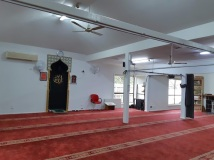 inside mosque at westall