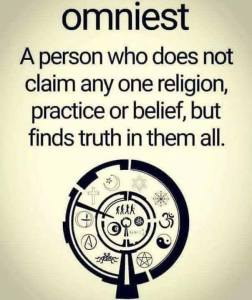 omniest sign no religion