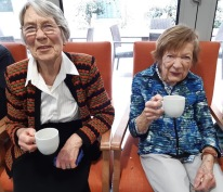 Edna with sister Florence