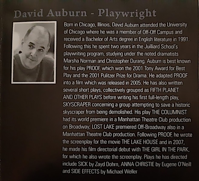 playwright of proof