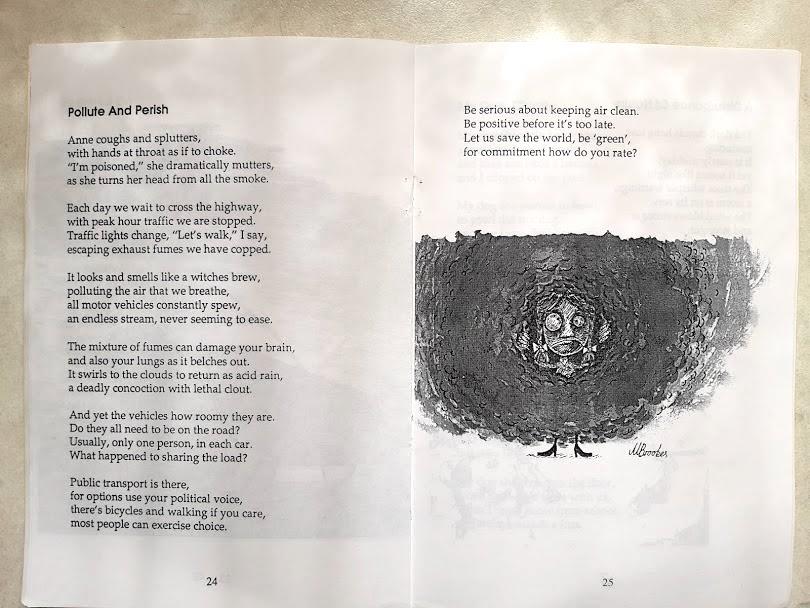 pollute and perish poem
