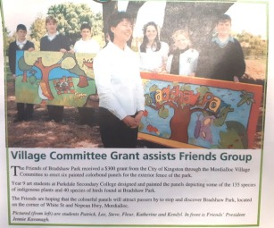 friends of bradshaw park