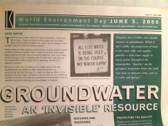 groundwater use kingston 2 2000