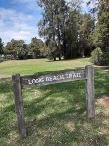 longbeach trail sign